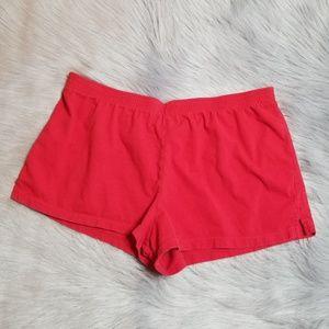 🛎 No Boundaries Sleep Shorts - Red